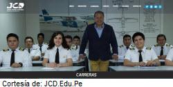 Foto de la web Escuela de Pilotos Jorge Chávez