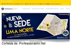 Centro de estudios para ser piloto de avión en Perú, Professional Air