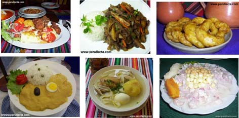 foto comida peruana