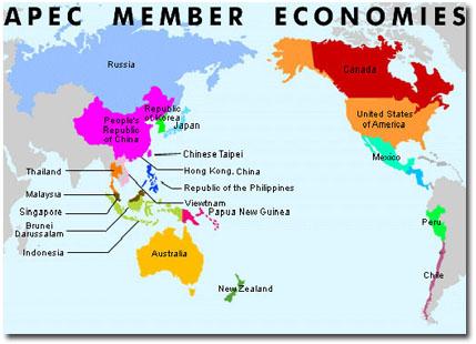 Miembros del APEC