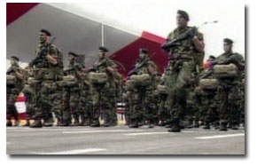 Militares peruanos