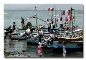 pescadores de pisco