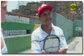 tenis en Ermitaño