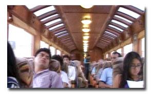 pasajeros del tren