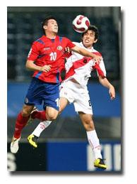 Perú gano a Costa Rica 3 - 1