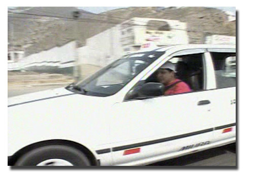 Taxista discapacitado