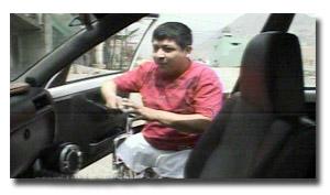 Taxista discapacitado Jackson Steven