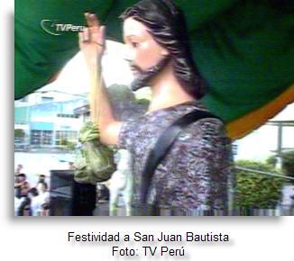 Juan Bautista es patrono de Tingo María