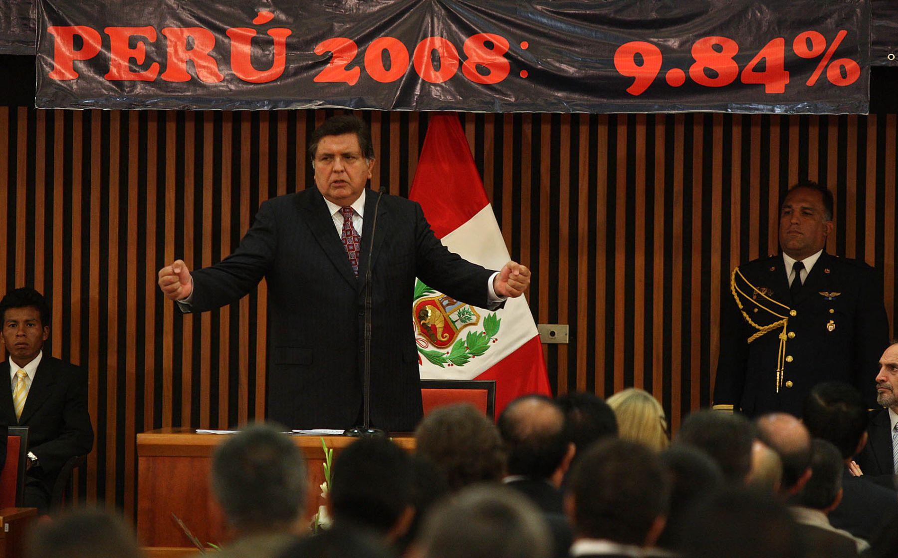 presidente-garcia-pide-confianza-en-crecimiento-de-peru-2009-a-2010