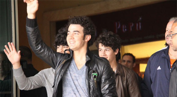 Foto de la cuenta Twitpic de The Jonas Brothers