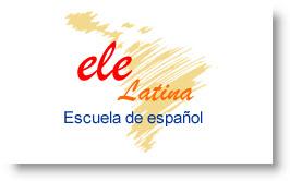 logo escuela de español en Lima - elelatina