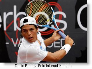 Foto del tenista peruano Duilio Beretta