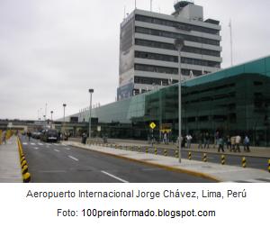 Aeropuerto Internacional Jorge Chávez - Callao Perú