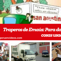 Dónde donar cosas usadas en Lima: Traperos de Emaús