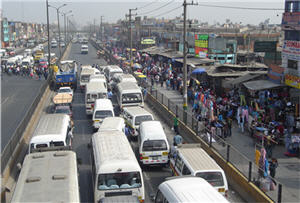 Combis en Lima