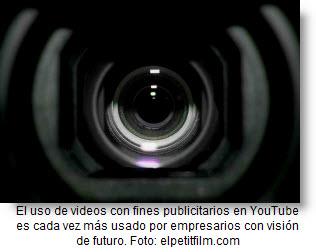 Los videos publicitarios en youTube son más usados