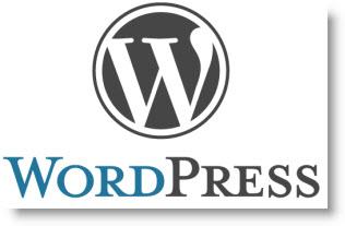 Imagen con el logo del CMS WordPress