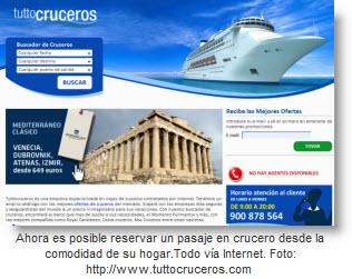 Foto Página web de Tuttocruceros.com