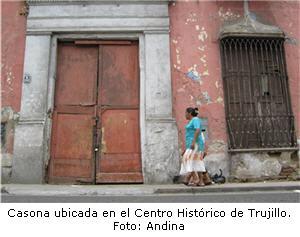 proyecto de reconstruccion de Casona de Trujillo