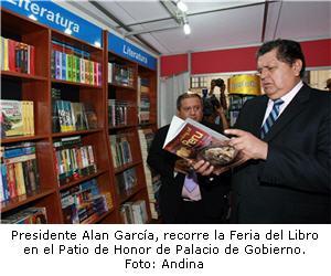 Feria del Libro en Palacio de Gobierno