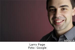 director de Google Larry Page