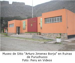 Museo de Sitio en las ruinas de Puruchucos