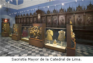 Sacristía Mayor de la Catedral de Lima