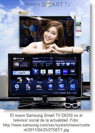 El Televisor del futuro es una realidad - Samsung Smart TV D6350