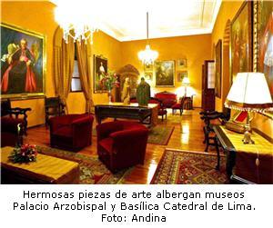Palacio Arzobispal de Lima abre sus puertas en horario nocturno