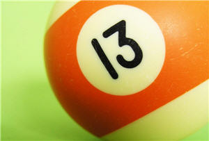 Número 13 es considerado una superstición