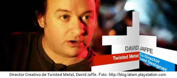 Entrevista con David Jaffe hablando sobre Twisted Metal