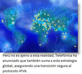 Nuevo protocolo de Internet, el IPV6