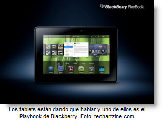 La tecnología da que hablar con Playbook vs iPad