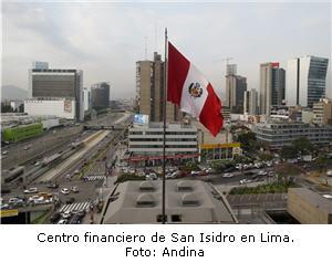 Centro Financiero en San Isidro, Lima