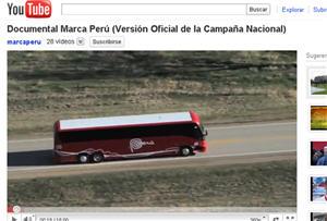 vídeo de Marca Perú