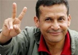 Ollanta Humala virtual Presidente del Perú