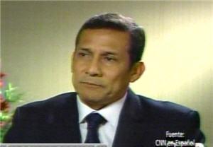 Ollanta Humala en entrevista a CNN