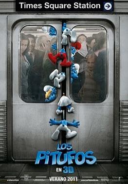 Los Pitufos 3D se estrena en agosto