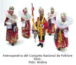 Retrospectiva folklorica en BNP