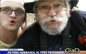 Bill Clemente y Logan Merz de Peru Nebraska