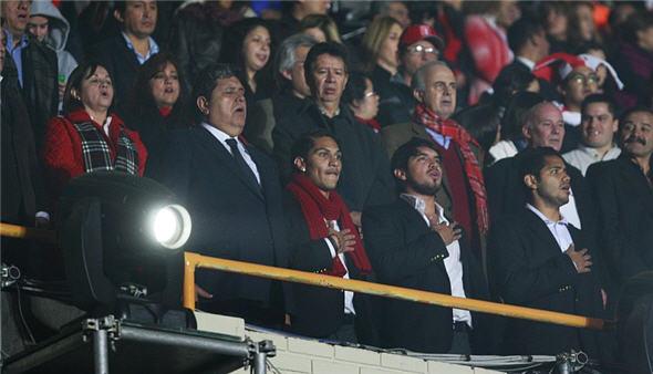 Estadio Nacional recibe a selección peruana