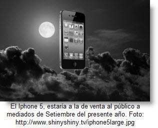 Novedades con el iphone 5