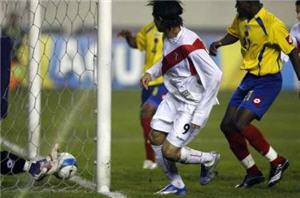 Perú venció a Colombia en la Copa América