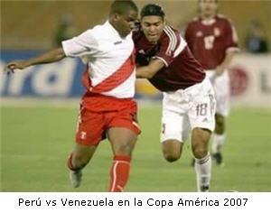 Perú y Venezuela en la Copa América 2007