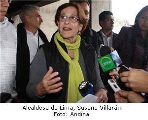 Susana Villarán implementará el boleto único