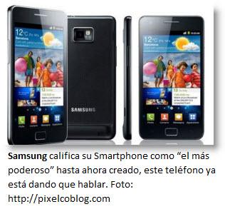 El Samsung Galaxy S 2 con Android - Celulares inteligentes
