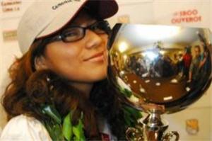Deysi Cori campeona Mundial Sub20 de Ajedrez