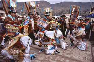 Fiesta del Agua en Ayacucho