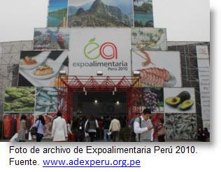 Imagen archivo Expoalimentaria 2010 - Fuente ADEX