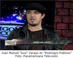 """Juan Manuel Vargas en """"Enemigos Públicos"""""""